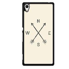 Directional Arrow TATUM-3271 Sony Phonecase Cover For Xperia Z1, Xperia Z2, Xperia Z3, Xperia Z4, Xperia Z5