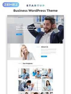 Previous Next View on Template Monster Business Website Templates, Start Up Business, Wordpress Theme, Layouts, How To Become, Web Design, Challenges, Face, Design Web