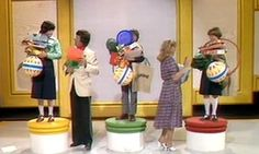 it's Friday, it's 5 o'clock, it's Crackerjack! Photo shows my favourite part of the show - quiz that included being loaded up with prizes and keeping what you didn't drop! If you did drop something you had to hold a cabbage 1970s Childhood, My Childhood Memories, Childhood Images, Programming For Kids, Kids Tv, I Remember When, My Memory, The Good Old Days, My Favorite Part