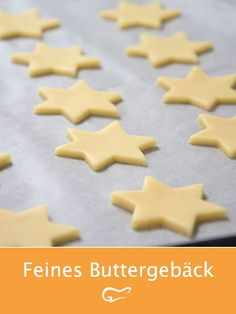 The finest shortbread biscuits are sure to succeed with this recipe. The popular Christmas . - The finest shortbread biscuits are sure to succeed with this recipe. The popular Christmas cookies - Easy Cookie Recipes, Baking Recipes, Cake Recipes, Best Christmas Cookies, Christmas Desserts, Christmas Biscuits, Holiday Baking, Christmas Baking, Shortbread Biscuits