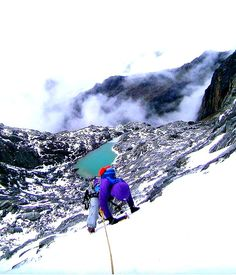 Subiendo el Pico Bolívar en pleno invierno para cumplir un sueño. Mérida, Venezuela