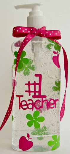 Teachers Gift Personalized Hand Sanitizer Baby by MADAboutYouGifts, $6.00