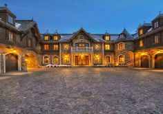 A castle or a home? The Tranquility Estate in Zephyr Cove, NV, which just sold for $48 million!