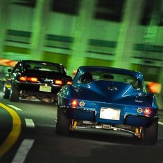 Muscle cars in Japan! #wangan #tbt #throwback #throwbackthursday #musclecar #americanmuscle #corvette #japan #streetrace #horsepower #jj #love #carporn #instagood #igers #igdaily #xsauto #bornauto #xenonsupply