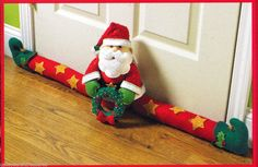 Bucilla Santa Door Draft Felt Christmas Home Decor Kit 86114 Stars Wreath | eBay