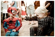 spiderman and spiderman