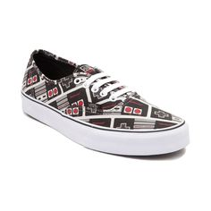 NEW Nintendo and Vans Authentic Controllers Skate Shoe Black Women s Size Skate  Shoes 749046dfb