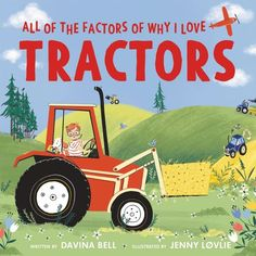 When Frankie McGee visits the library, he has his sights set on borrowing a book about tractors—again! Why? Let him tell you! This laugh-out-loud picture book from award-winning author Davina Bell and illustrator Jenny Løvlie is a great choice for anyone who loves vehicles, transportation, things that go, and reading. A winning pick for those who can't get enough of Goodnight, Goodnight Construction Site and Little Blue Truck.