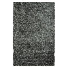 This shag rug offers modern style with ultimate comfort. A polyester pile with different shades gives this rug a unique peppered pattern look.