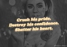 marina and the diamonds. Ultimate femme fatale mentality.