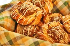 Cinnamon Cream and Apple Twirls
