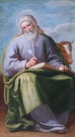 Today with the Saints October Saint Luke Lucas Evangelista, Luke The Evangelist, Biblical Art, 17th Century, Christianity, Catholic, St Luke, How To Memorize Things, Saints