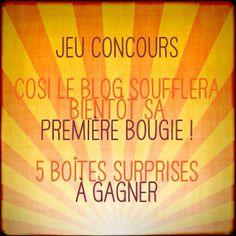 Fêtez avec nous les 1 an de COSI, le blog : http://www.cosi-blog.com/jeu-concours/