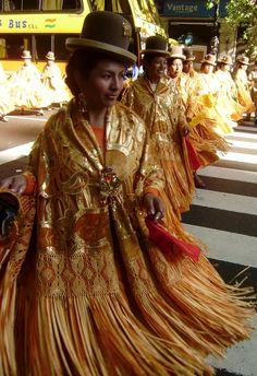 Parade of Bolvians #mybeautifulair