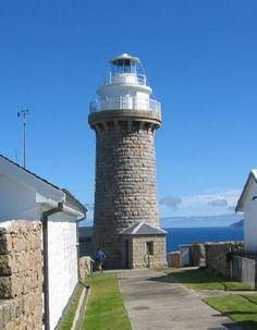 Wilson's Promontory Light: Victoria, Australia.  Go to www.YourTravelVideos.com or just click on photo for home videos and much more on sites like this.