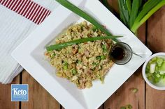 Low Carb Fried Rice With Cauliflower [video]