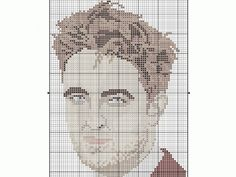 Stitch Robert Pattinson | Cross Stitching Only repining this for my friends that like Twilight