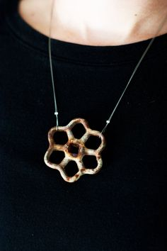 Salvaged+Rusted+Spigot+Necklace+by+HuckleberryHandmade+on+Etsy,+$23.00