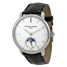 Frederique Constant Slim Line Moonphase Automatic Men's Watch 705S4S6 - Slim Line - Frederique Constant - Shop Watches by Brand - Jomashop