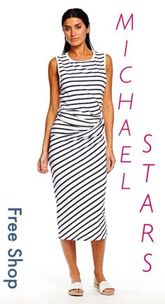 New Arrivals from Michael Stars!! Fun Dresses and Cozy Sweaters!!