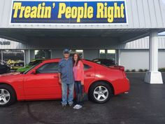 Congratulations Harold & Linda Wright on the purchase of your 2010 Dodge Charger. We appreciate your business & friendship.