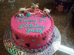Littlest Pet Shop Kitty Cat Birthday Cake!!!