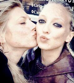 katherynwinnick: This girl killed it the last episode…it more ways than one ;) @geehirst #dirtychicks #Lagertha #Torvi #Vikings