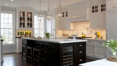 Updated classic traditional kitchen