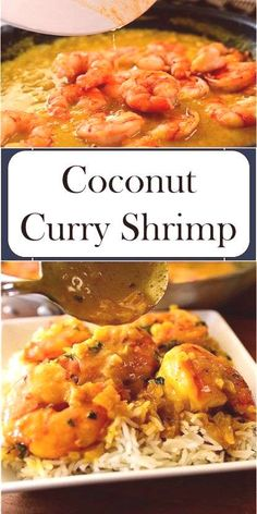 Coconut Curry Shrimp >> >> >>You can find Curry shrimp and more on our website. Coconut Curry Shrimp, Shrimp Curry, Chicken Curry Salad, Cake Board, Macaroni And Cheese, Wasting Time, Vegetarian, Photograph, Ethnic Recipes