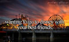 My bff and I love Disney!