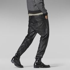 G-Star RAW | Men | New-arrivals | A Crotch Leather Tapered