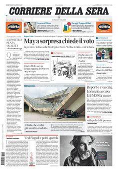 Corriere della Sera // 19/04/2017 //