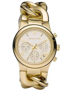 Michael Kors Runway Twist Watch... my watch obsession will begin and end with Michael Kors watches