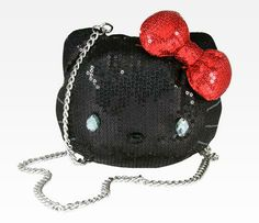 Hello Kitty Glam Purse: Tartan
