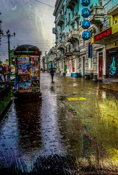 My city can be rainy too