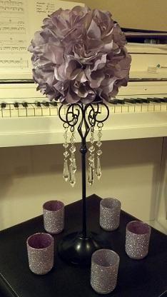 centerpiece in progress... | Weddingbee DIY Projects