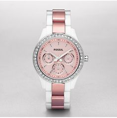 Fossil watches are the best. Want this one SO MUCH! ...Christmas? ;D
