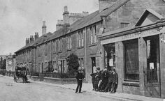 Old Photograph St Boswells Scotland