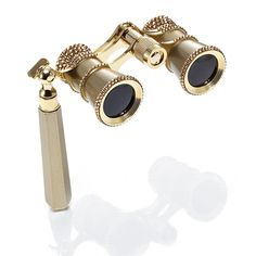 Trimmed Opera Glasses - Gold