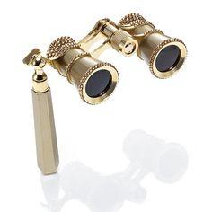 Trimmed Opera Glasses - Gold