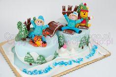 cake for twins, tort dla bliźniaków, piękne torty gdańsk, torty artystyczne, tort artystyczny, tort angielski,