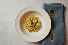 Diana Henry Orzo with lemon zest, parsley and cheese pasta fc