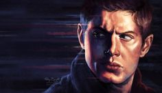ABBURNETT Supernatural Sam, Destiel, Dean Winchester, Jensen Ackles, Tv Series, Fandoms, Fan Art, Sign, Actors