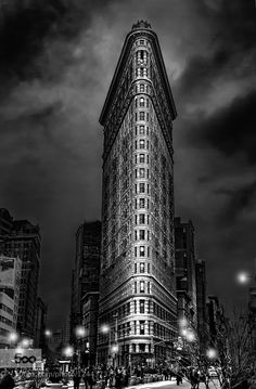 Flat Iron in noir by JacksonCarvalho #Architecture #fadighanemmd