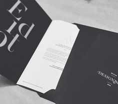 DesignBook2015 | Creative direction and print by @studio.blacksensitive #book #portfolio #agency #graphicstudio #luxury #cosmetics #beauty #fashion #lifestyle #print #typography #identity #edition #blacksensitive #studiodecreation Fashion Invitation, Graphic Design Studios, Identity, Luxury Cosmetics, Typography, Cards Against Humanity, Invitations, Creative, Books