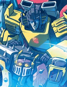 Sunstreaker with freckles.