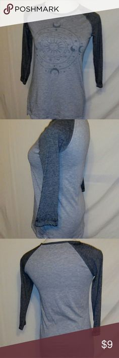 Lol vintage gray 3/4 sleeve tshirt size medium Measurements Armpit to armpit 17in Length 25in lol vintage Tops Tees - Short Sleeve