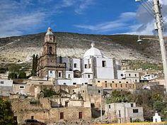 Parroquia de la Purísima Concepción, Real de Catorce, San Luis Potosí, México.