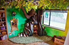 Um pai criou essa árvore incrível para o quarto da filha! Vem saber mais...