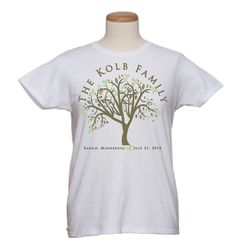 Our family reunion t-shirts are handmade t-shirts for designed especially for your family reunion, family, or group! Our womens and mens t-shirts are made with 100% preshrunk cotton.  http://www.wicksncandlesticks.com/store/Wedding-Event-Accessories/Event-T-Shirts/The-Family-Tree?CDpath=2